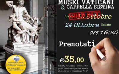 Musei Vaticani 24 Ottobre 2020