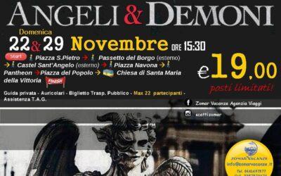 Angeli & Demoni 22-29 Novembre 2020